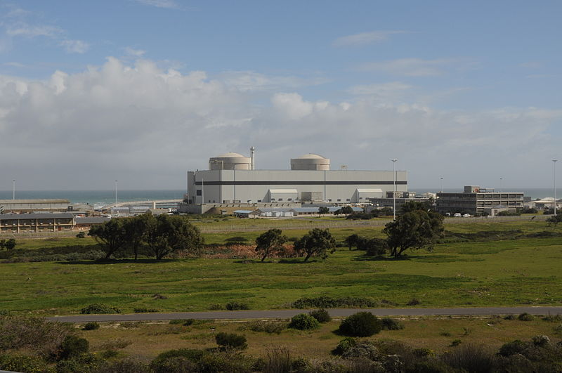 Koeberg launches it's own desalination plant.