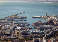 Cape Town builds new desalination plant at the V&A Waterfront.