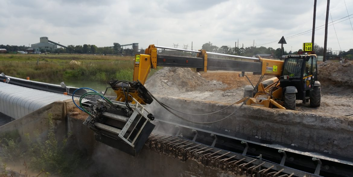 Cold Cutting and Hydro Demolition