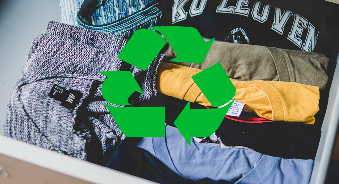 Recycle old and unwanted clothes