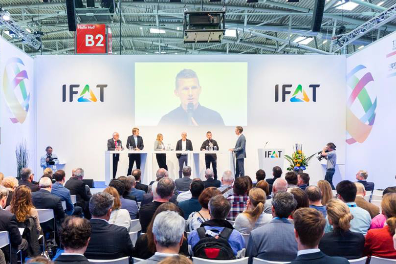 Microplastic waste in spotlight at IFAT 2018