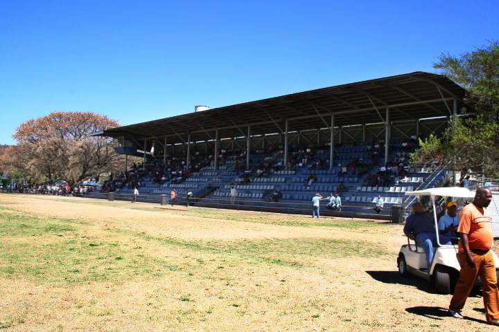 Tshwane South College grand stands on sports field