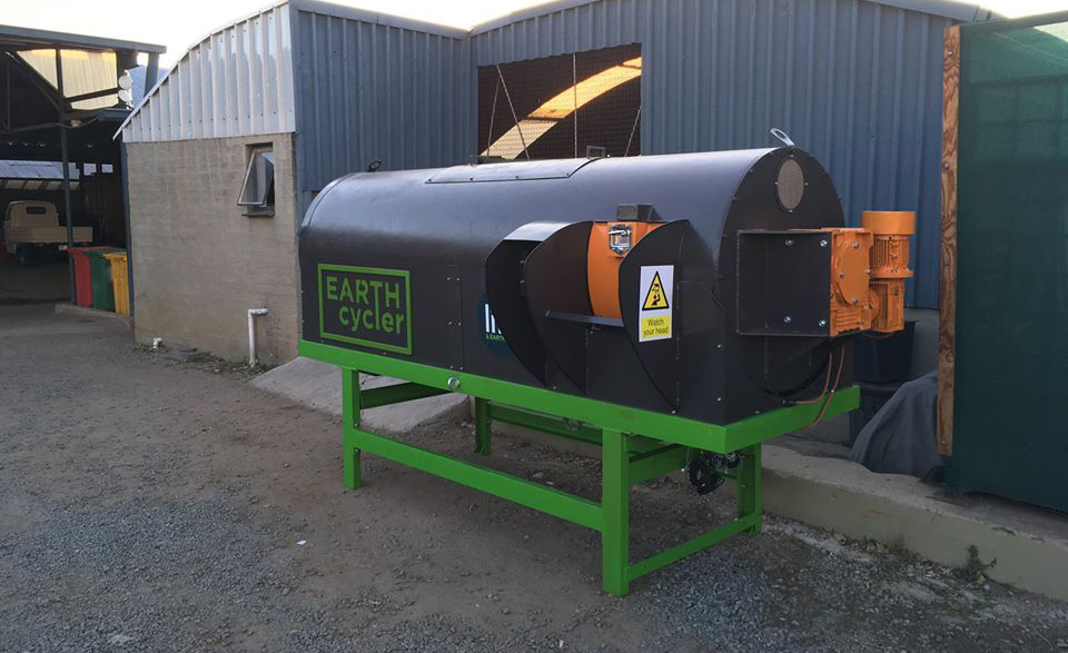 Earth ProBiotic composting machine