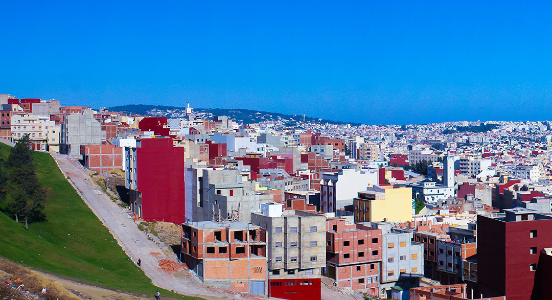 Tangier city in Morocco, Africa
