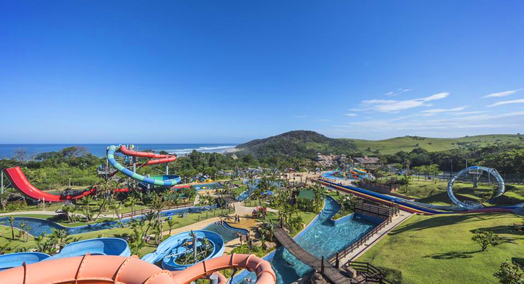 Wild Coast Sun water park in South Africa