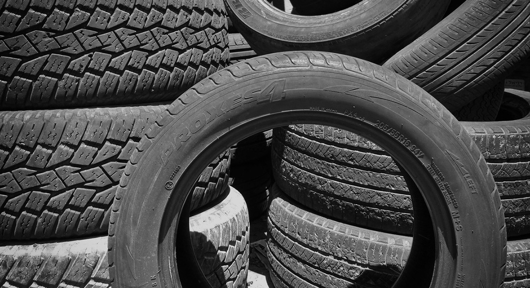 Tyre for recycling