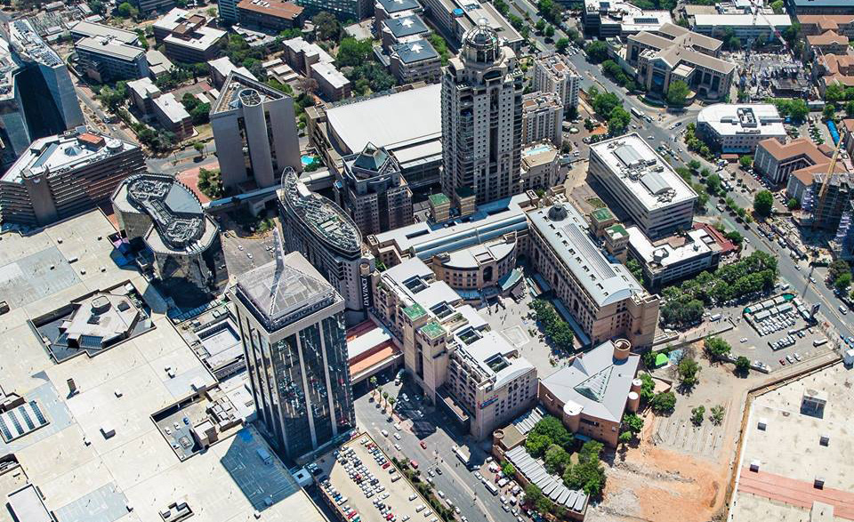 Sandton City and Nelson Mandela Square shopping malls
