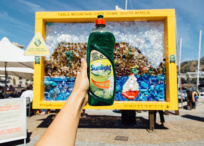 Sunlight Dishwashing Liquid new recyclable bottle