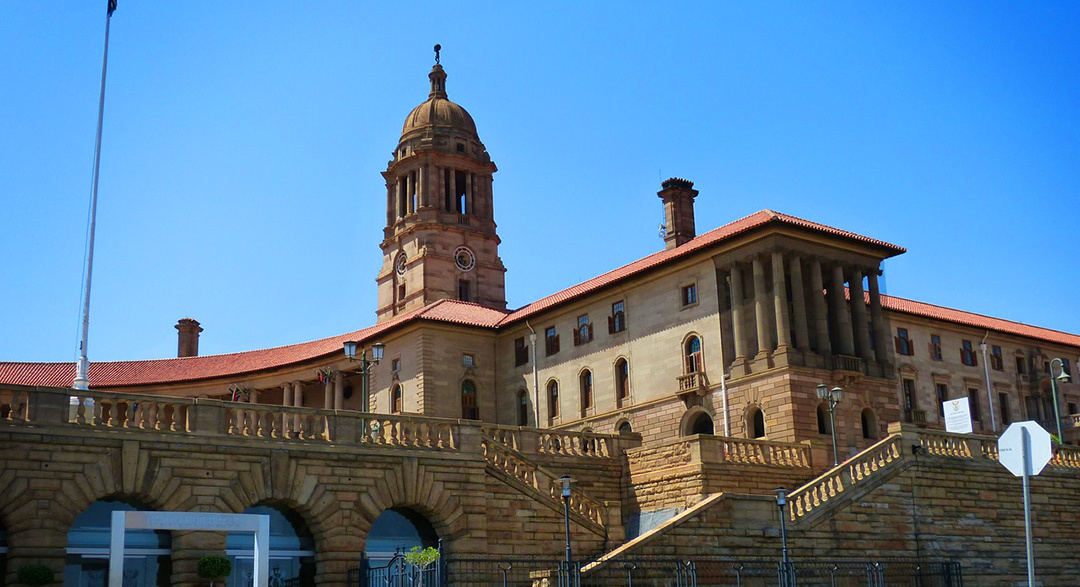 South African Union Buildings in Pretoria