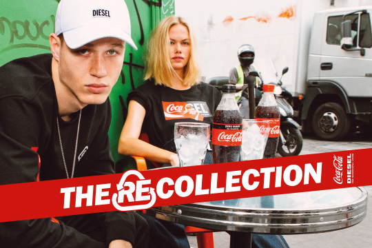 The recycled clothing line launched by Coca-Cola and Diesel